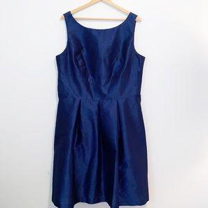 Alfred Sung Blue Sleeveless Cocktail dress